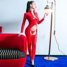 Back Hollow Out Adjustable Up Jumpsuit Hips Hollow Out With Thong Bodysuits Nigh