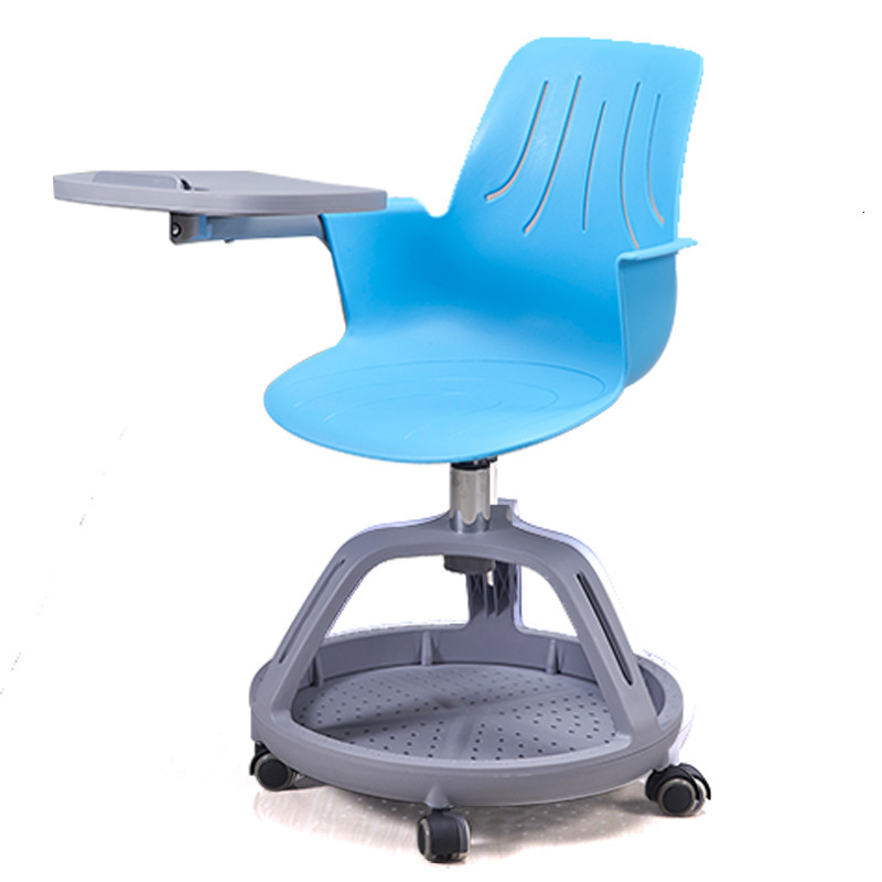 Wisdom Classroom Student Desks And Chairs Concise Bring Tire Writing Board Train Meeting Chair Move Plastic Chair