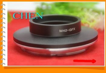 M42-GFX lens adapter ring for m lm Lens to fuji GFX mount GFX50S GFX50R Medium Format camera