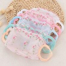 Floral Print Sunscreen Silk Mask