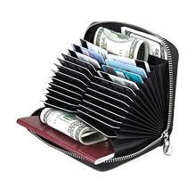 Rfid кредитной карты держатель для карт бумажник Для женщин