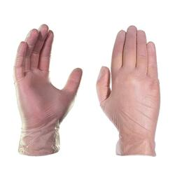100pc 使い捨てビニール手袋 4 ミル食品グレード手袋帯電防止プラスチック手袋食品クリーニング調理キッチンクリーニング