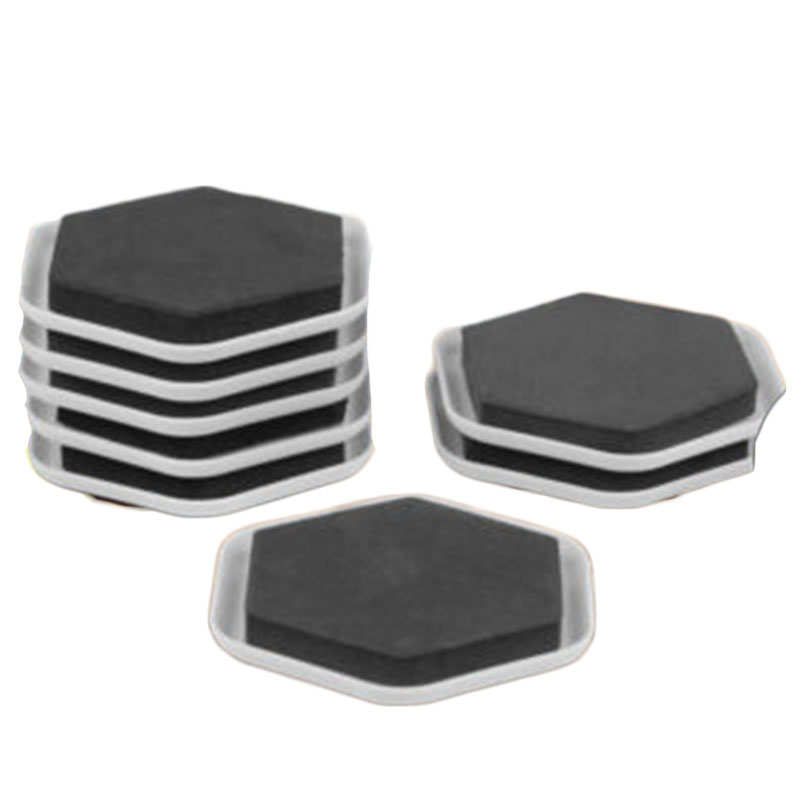 Heavy Duty Floor Mat Protectors CUSTOM 4-Piece Dodge Ram CLEAR VINYL