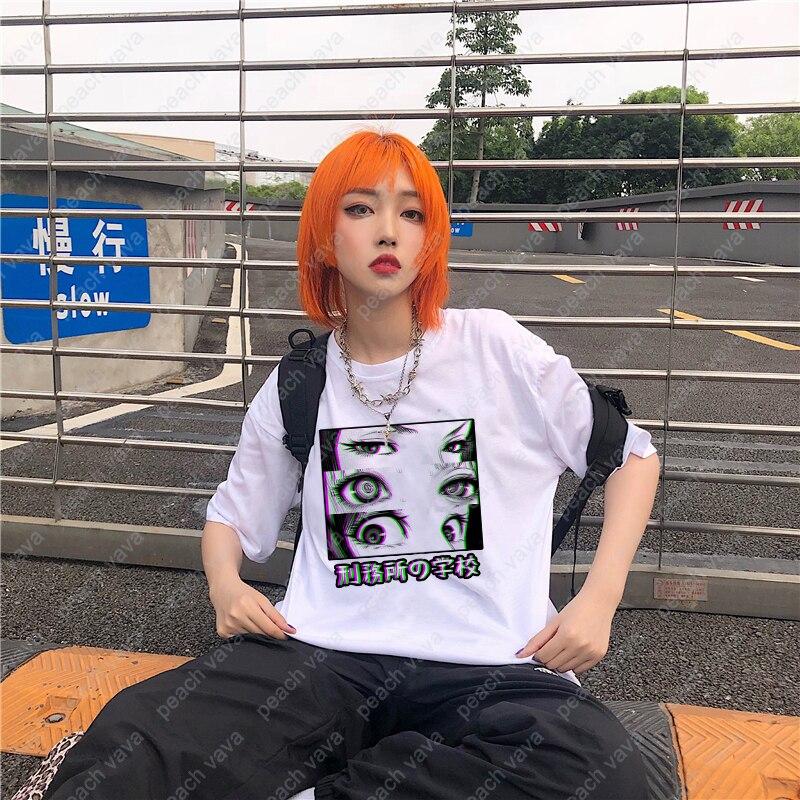 Prison School Anime Eyes T-shirts 5