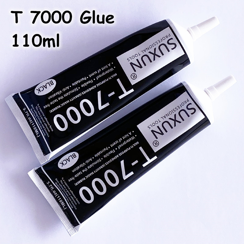 <font><b>T7000</b></font> Glue Multi Purpose Super Glue Adhesive Epoxy Resin Repair Cell Phone LCD Touch Screen Glue T 7000 1 PCS <font><b>110ml</b></font> Best Glue image