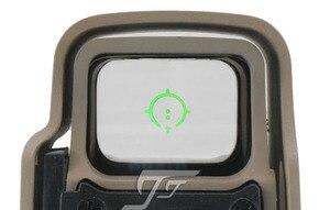 Image 4 - JJ Airsoft XPS 3 2 kırmızı/yeşil nokta, QD dağı (siyah/Tan) bir satın almak bir ücretsiz Killflash/öldür flaş