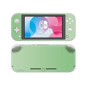 Image 2 - Однотонная розовая наклейка для Nintendo Switch, наклейка для Nintendo Switch Lite, Защитная Наклейка для Nintendo Switch Lite