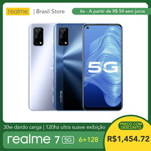 Realme 7 5G 6GB RAM 128GB ROM - 30W Dart şarj | 5000mAh büyük pil | 120Hz Ultra pürüzsüz ekran