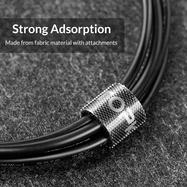 TOPK Cable Organizer USB Cable Management Mouse Wire Holder Earphone Winder Clip Cord HDMI Cable Protector for iPhone Samsung