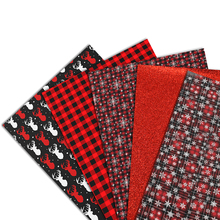 Earring-Accessories Fabric-Sheet Upholstery Vinyl Clothing DIY Assorted Christmas 1yc12909