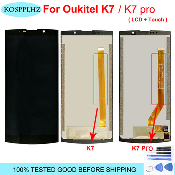1280*720 black 5.5inches For oukitel K7 / K7 PRO / k7 power LCD Display And Touch Screen assembly Replacement k 7 pro +Tools фото