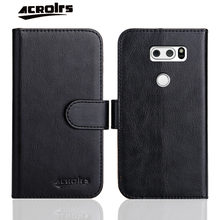Fashion Leather Case For LG V10 V20 V30 V35 V40 V50 V30S ThinQ Case Flip Soft Wallet Protective Phone Cover Card Solt Fundas(China)