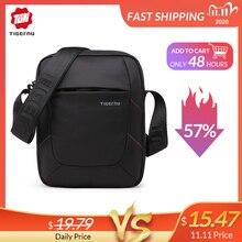 Tigernu брендовая сумка на плечо для мужчин, мужская сумка мессенджер, мужские черные сумки 10 дюймов, сумки через плечо, маленькая сумочка, Повседневная деловая сумка