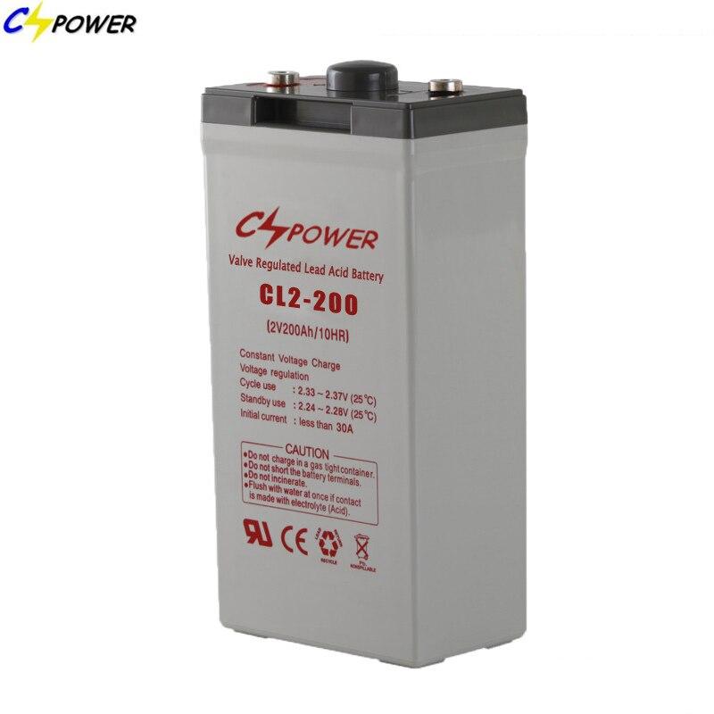 2V 1200ah Rechargeable AGM Valve Regulated Lead Acid Solar Battery