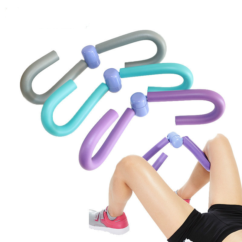 Leg Muscle Thin Stovepipe Clip Slim Fitness Gym Thigh Arm Chest Waist Trainer G4