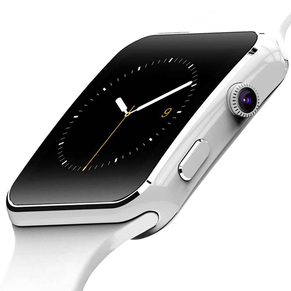 X6 ساعة ذكية دعم سيم TF بطاقة h كاميرا Smartwatch بلوتوث الهاتفي/مع كاميرا تعمل باللمس آيفون شاومي أندرويد IOS