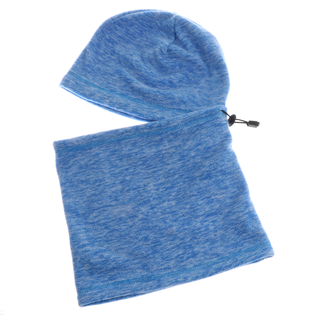 Adjustable Balaclava Hood- Windproof Ski Mask - Cold Weather Full Face Mask Motorcycle Cycling Neck Warmer Scarf