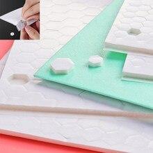 3D podwójne boki pokryte klejem piankowe kropki taśma mocująca mocny klej magiczna naklejka haczyk i pętla DIY Scrapbooking, rzemiosło Project 2020