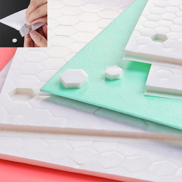 3D Double-sided Adhesive Foam Dots Fastener Tape Strong Glue Magic Sticker Hook And Loop DIY Scrapbooking Craft Project 2020