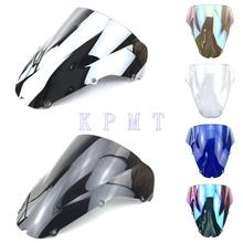 Ветровое стекло с двойными пузырьками для Honda CBR 900RR 929 2000 2001 CBR929RR cbr r cbr929 CBR900RR 929 2000 2001