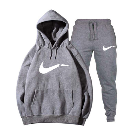 Winter Autumn Men Hoodie sweatshirt jacket+ joggers sweatpants man printing suits sportwear Tracksuit Fight Color Brand clothing Pakistan