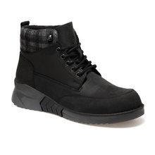 RAMON CRZ czarne męskie buty tanie tanio LUMBERJACK podstawowe Sztuczna skóra ANKLE