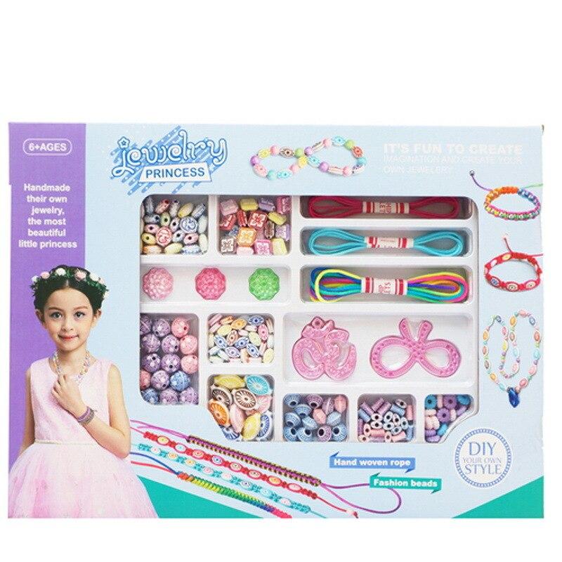 CHILDREN'S Toy DIY Flexible Beaded Bracelet Educational Splicing Toys Popper Beads Creative Gift Toy