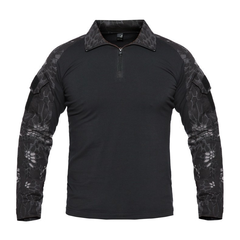 Hf3367c64843246b09eb087c3008b2350j - Men Outdoor Tactical Military Hiking T-Shirts Male Army Camouflage Long Sleeve Sports Shirt Breathable Hunting Fishing Clothes