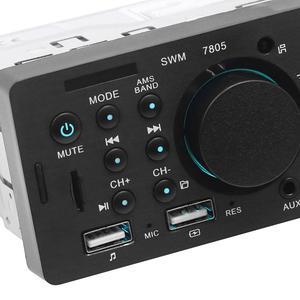 Автомобильный Mp5 плеер 7805 1DIN, 4,1 дюйма, TFT, стерео, MP5 плеер, FM радио, BT4.0, USB, AUX, RCA, пульт дистанционного управления для автомобиля MP4,MP5 Automotivo