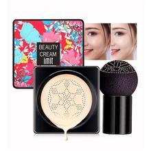 Mushroom Head Air Cushion BB Cream Primer Concealer Oil-control Natural Whitening Cream Makeup CC Moisturizing Foundation B3L7