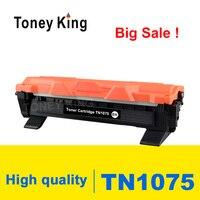 Toney King Toner Cartridge TN1075 TN 1075 Kompatibel untuk Saudara HL-1110 1112 DCP-1510 1512R MFC-1810 Printer dengan Chip