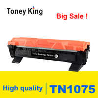 Toney Roi Cartouche De Toner TN1075 TN 1075 Compatible pour Frère HL-1110 1112 DCP-1510 1512R MFC-1810 Imprimante Avec Puce