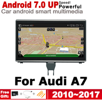 9 HD IPS DSP Stereo Android 7.0 up Car DVD GPS Navi Map For Audi A7 4G8 2010~2017 MMI 2 DIN multimedia player radio WiFi BT