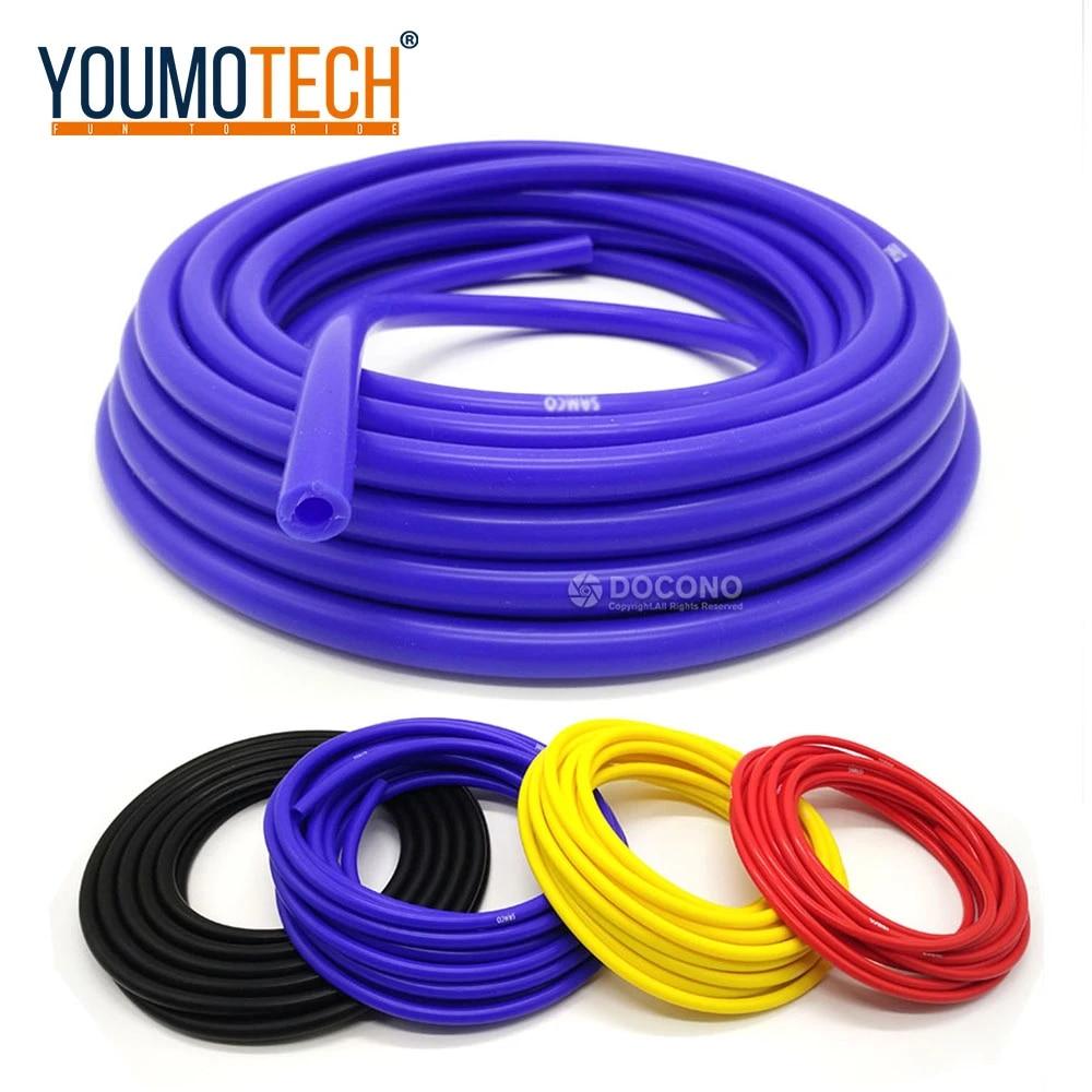 4mm Silicone Vacuum Tube Hose Silicon Tubing 3M Black