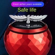Car Perfume Car Interior Aromatherapy Car Lasting Light Fragrance Car Supplies Deodorant High-end Solar Ornaments Accessories