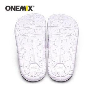 Image 4 - ONEMIX Summer Men Beach Sandals Casual sandals Men Or Women Slippers Indoor Outdoor Women Wading Flats Shoes Men 2019 New