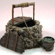 1:35 Scale Die-casting Resin Scene Model 35911 Resin Water Well Model Unpainted Free Shipping