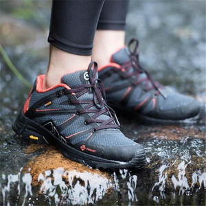 Image 5 - New Youpin Proease Forest Outdoor Shoes Xiaomi Eco System Sneakers Women Waterproof V Bottom Anti Slide Shock Breathable Shoes