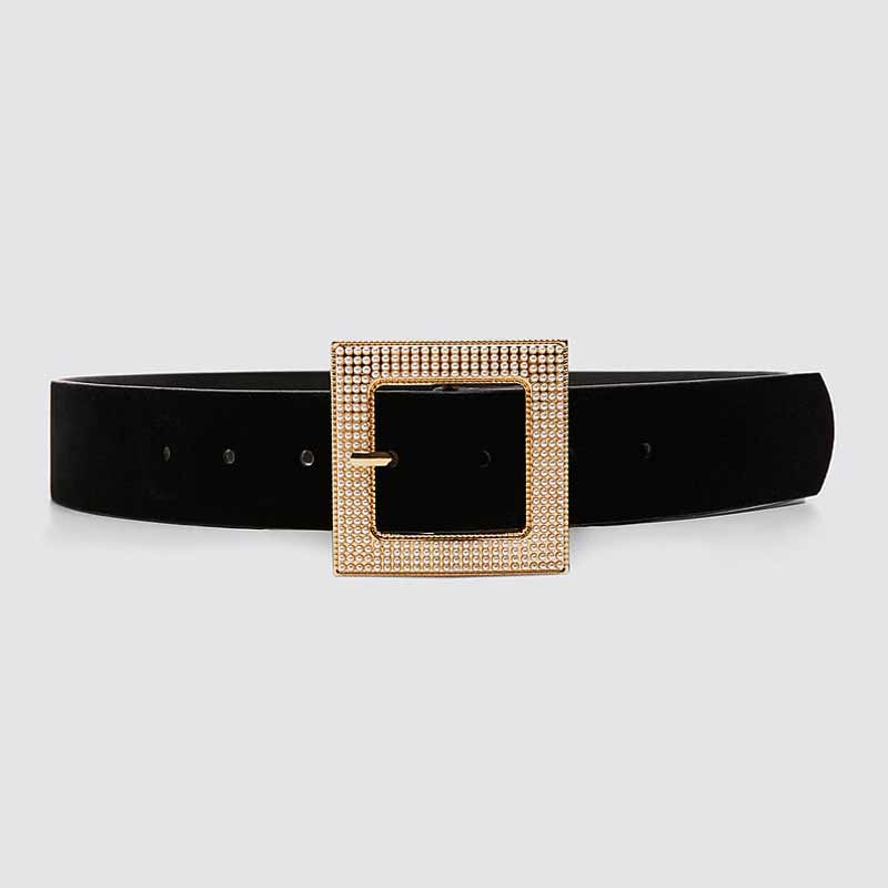 Hf3372356f7da4652aaa53dcd4c0c51a8L - Girlgo Newest Vintage Velvet Buckle Belt for Women Punk Metal Gold Color Belly Chain Accessories Jewelry Party Gifts Bijoux