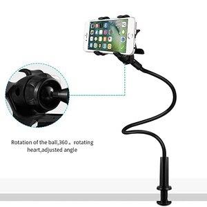 Универсальный Длинный держатель для ленивых телефонов держатель для iPhone X 7 Plus 8 6 кровать Держатель для настольного телефона зажим