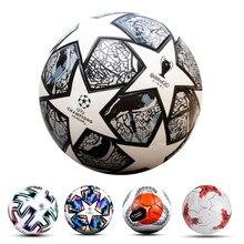 Ballon de Football professionnel 5 points, en matériau Pu, de haute qualité, pour entraînement sportif, nouvelle collection 2021