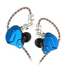 سماعات أذن Kz Zsn Pro, سماعات أذن Kz Zsn Pro سماعات أذن 1ba + 1dd تكنولوجيا هجينة Hifi Bass سماعات أذن معدنية سماعات أذن رياضية كابل بلوتوث لضوضاء ZSX ZAX