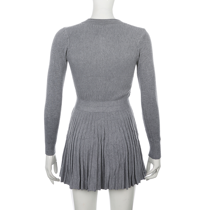 Knitted Sweater Dress (11)
