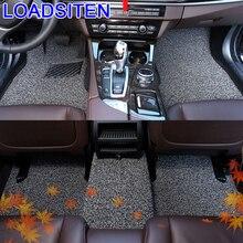 Styling Parts Decoration Accessories Protector Interior Automovil Accessory Decorative Carpet Car Floor Mats FOR Hyundai Verna