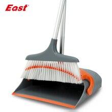 Купить с кэшбэком East New Arrivial Broom and Dustpan Set Foldable House Floor Cleaning Tools