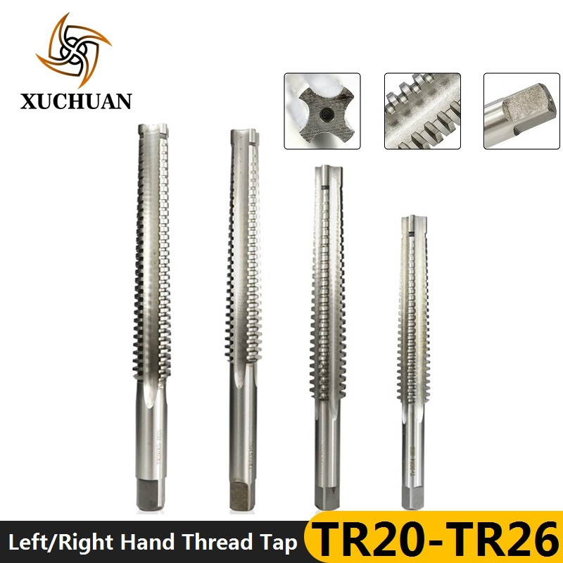 TR Trapezoidal Tap HSS Straight Flute Thread Tap Left/Right Hand Screw Tap Drill Bits Threading Machine Tapping Tool Hand Taps
