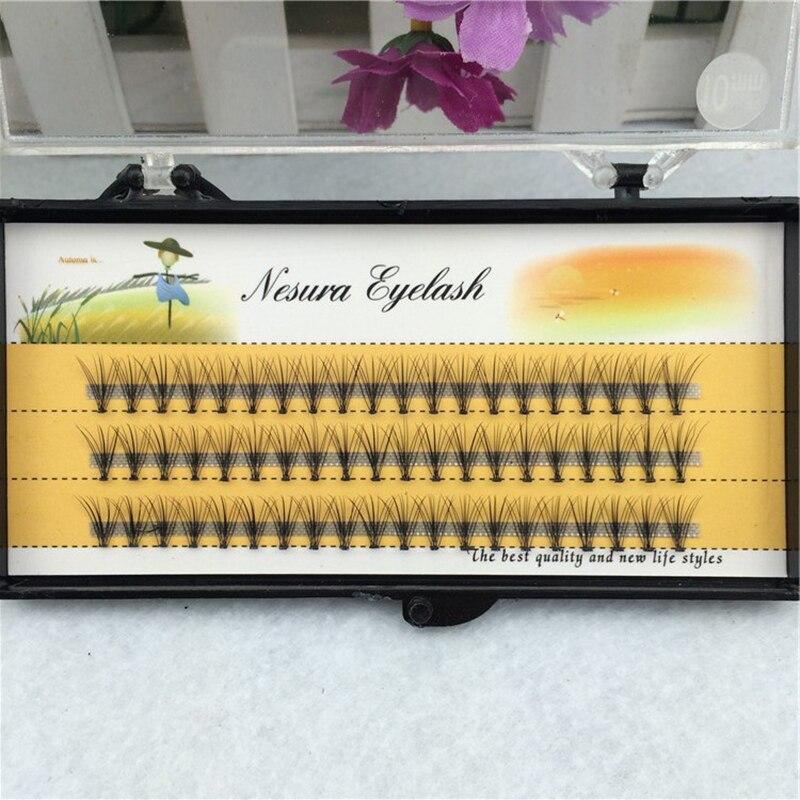 Wholesale New False Eyelashes 0.07 C 10D Wave Individual Eyelash Extension Of Mink Black Soft Women False Eye Lashes