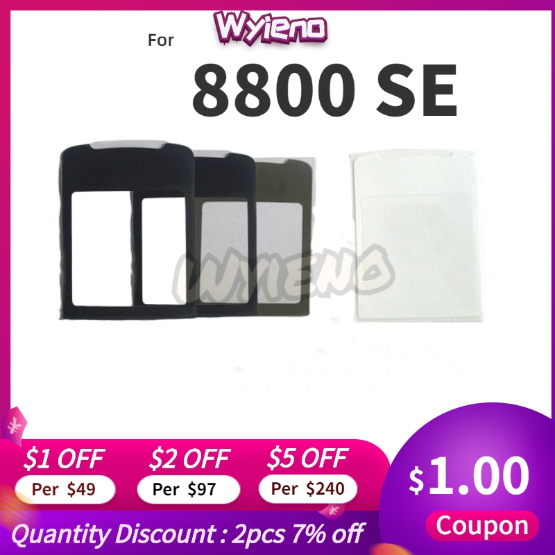 Wyieno N8800 SE Outer Glass Screen For Nokia 8800 Sircocco Glass Lens Front Panel ( Not Touch Screen Sensor) Tracking