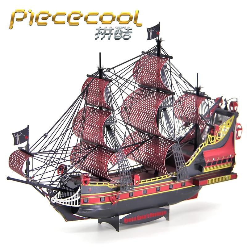 STEEL GOLEM Figure Toy Queen Anne Titanic 3D Metal Puzzle DIY Models 3D Laser Cut Jigsaw Toys Gift Adult Jigsaw Toys