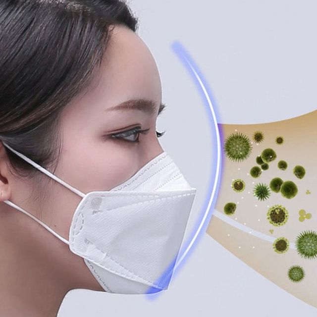 10PCS N95 5 Layers Mask Antivirus Flu Anti Infection KN95 Masks Particulate Respirator PM2.5 Protective Safety Same as KF94 FFP2 1